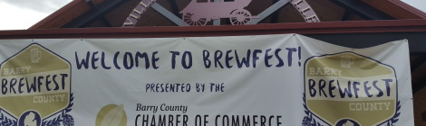 Barry County Brewfest - Great First Year for Michigan Beer Festival and Beard Competition
