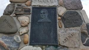 Hugh J Gray Monument Cairn Highway