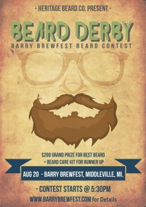 Barry County Brewfest Beard Derby