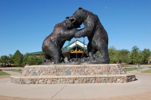 Cabelas Worlds Largest Bronze Wildlife Sculpture