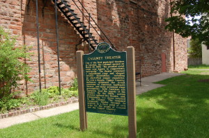 Calumet Theatre Michigan Marker