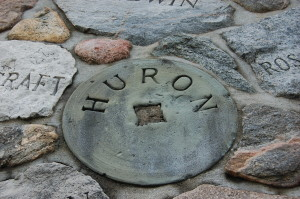 Kewadin Rock Cairn Huron County Grindstone