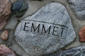 Kewadin Rock Cairn MI Emmet County