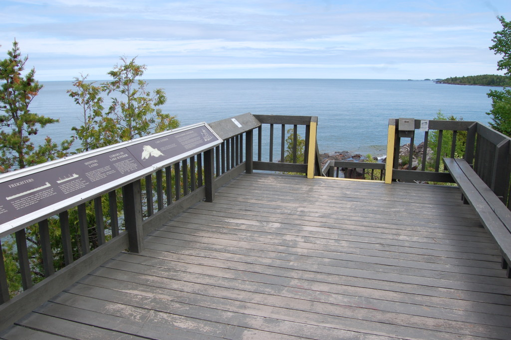 Eagle Harbor Lake Superior Viewing Platform