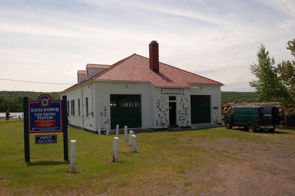 Eagle Harbor Life-Saving Station