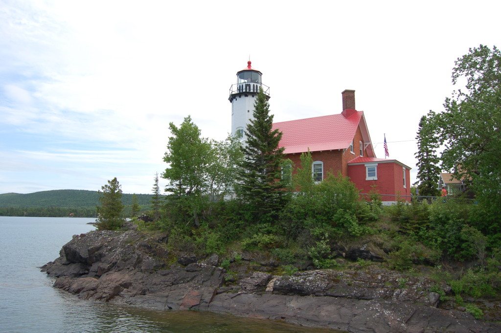 Eagle Harbor Lighthouse Lake Superior View