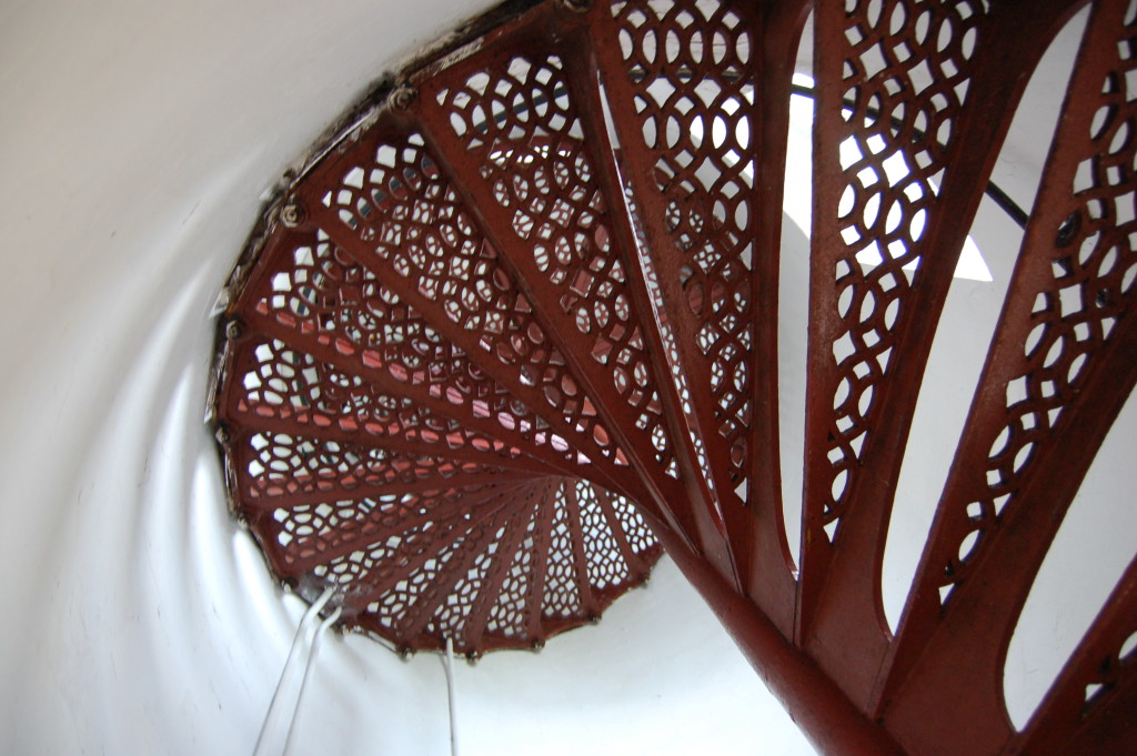 Eagle Harbor Lighthouse Tower Staircase