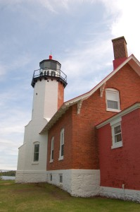 Eagle Harbor Lighthouse Vertical