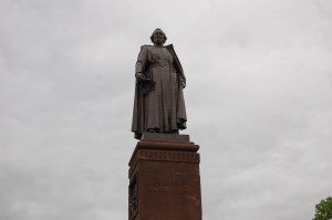 Father Jacques Marquette Statue Michigan Feature Photo
