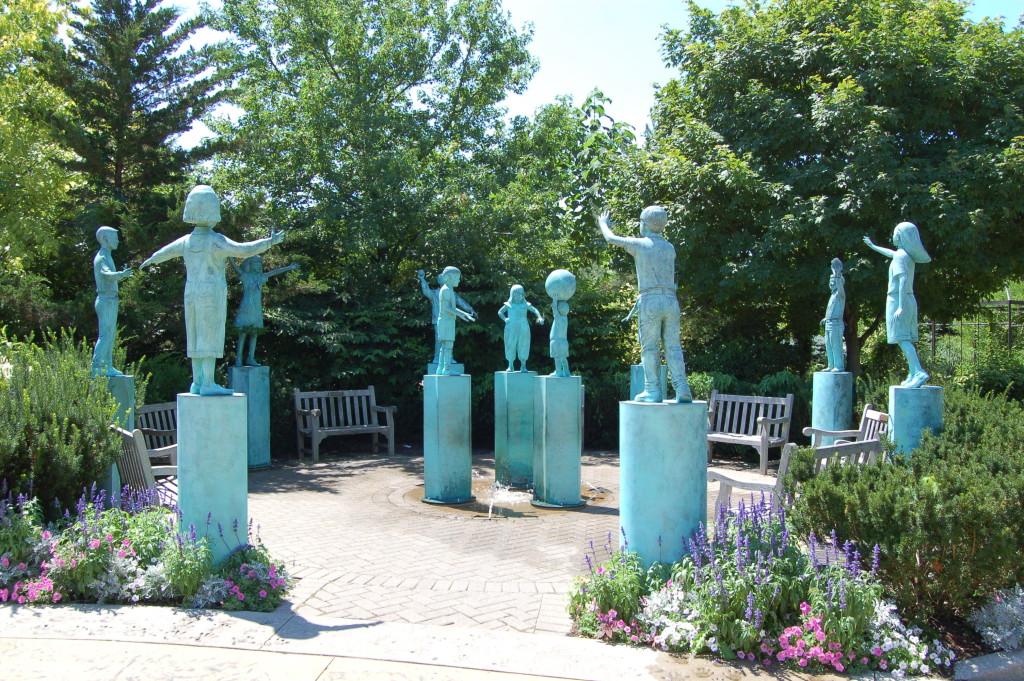 Frederik Meijer Gardens Children's Fountain