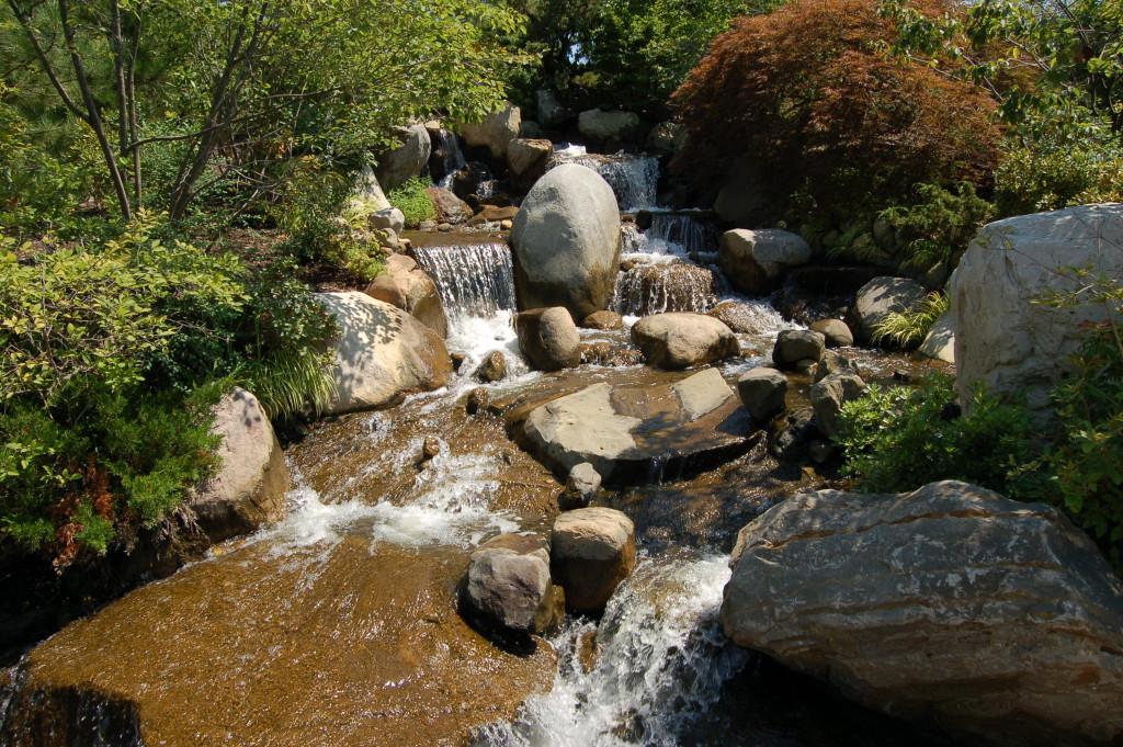 Frederik Meijer Gardens Waterfall Japanese