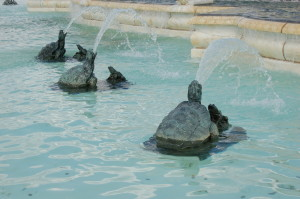 James Scott Memorial Fountain Turtles Belle Isle