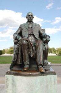 James Scott Statue Belle Isle Detroit