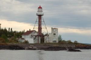 Manitou Island Lighthouse Lake Superior