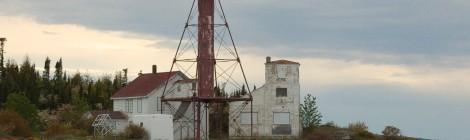 Manitou Island Lighthouse, Lake Superior