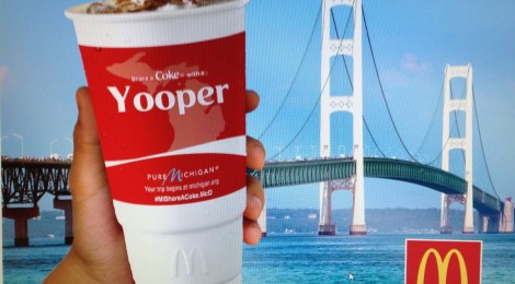 McDonalds Pure Michigan Marketing Campaign Invites Michiganders to Share a Coke