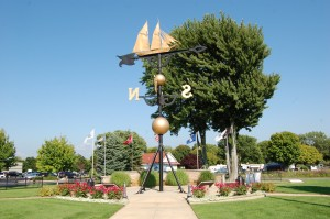 Montague MI Worlds Largest Weather Vane