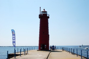 Muskegon South Breakwater Light Cover PHoto