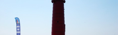 Muskegon South Pierhead Light, Lake Michigan