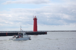 Muskegon State Park Lighthouse View