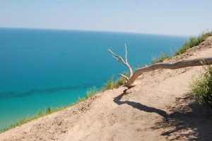 Pyramid Point Sand Sunes Lake Michigan