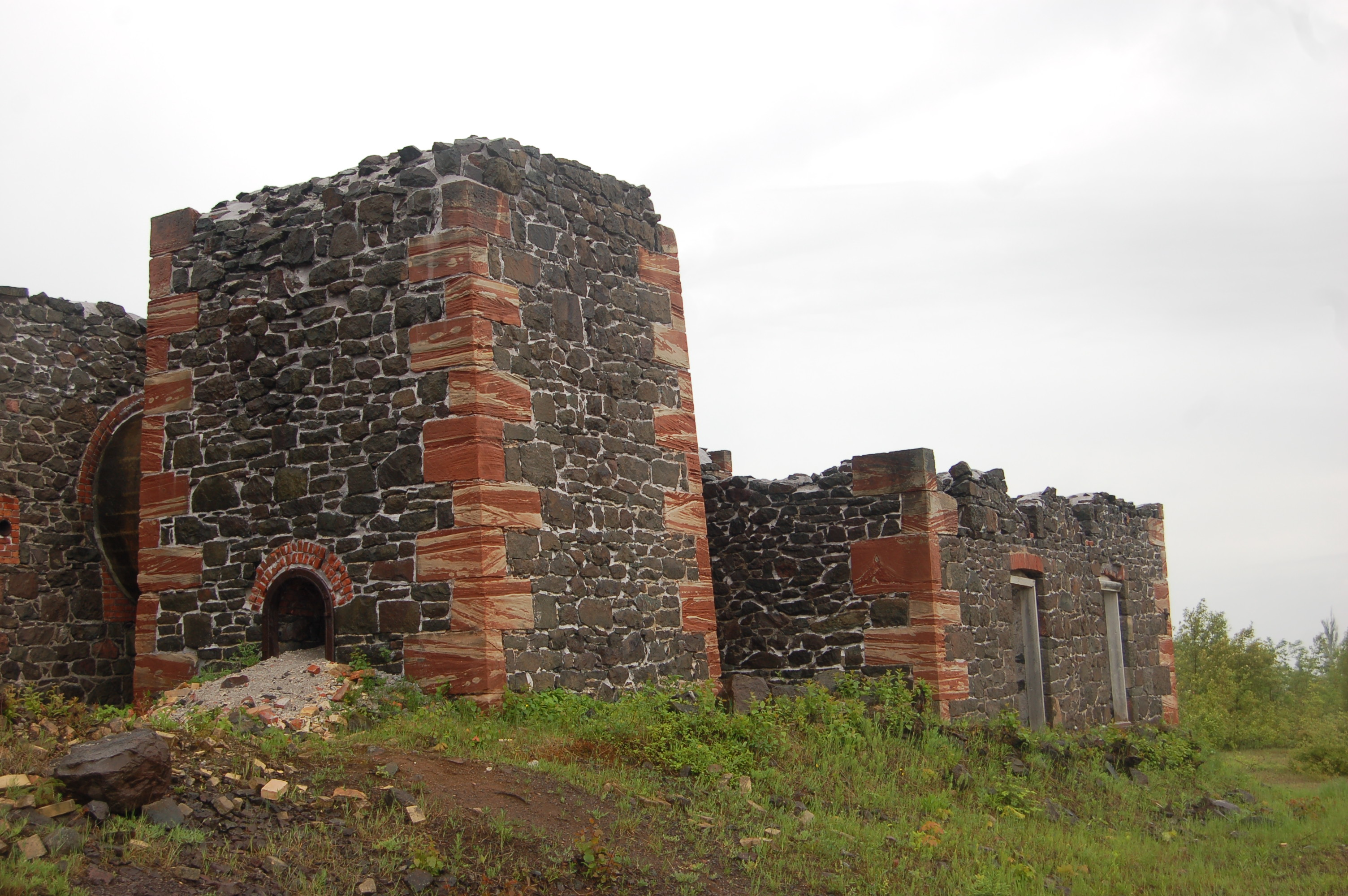 Quincy Mine Brick Ruins Hancock