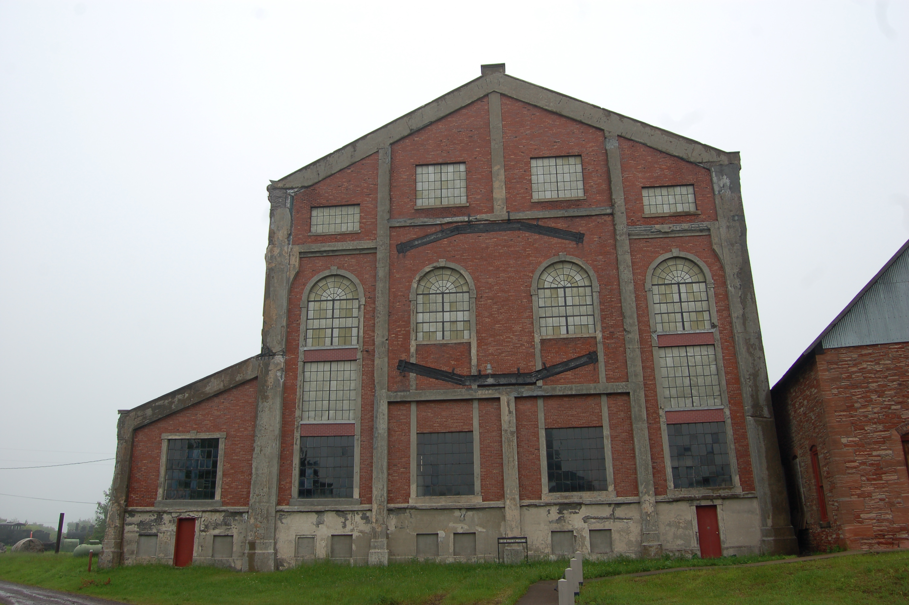 Quincy Mine Hoist House