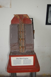 Quincy Mine Man Engine