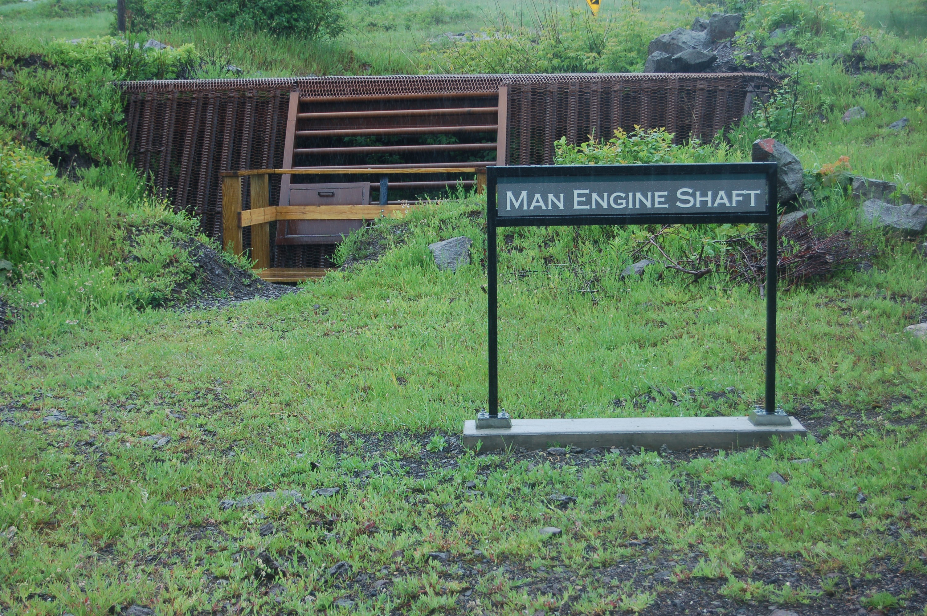 Quincy Mine Man Engine Shaft