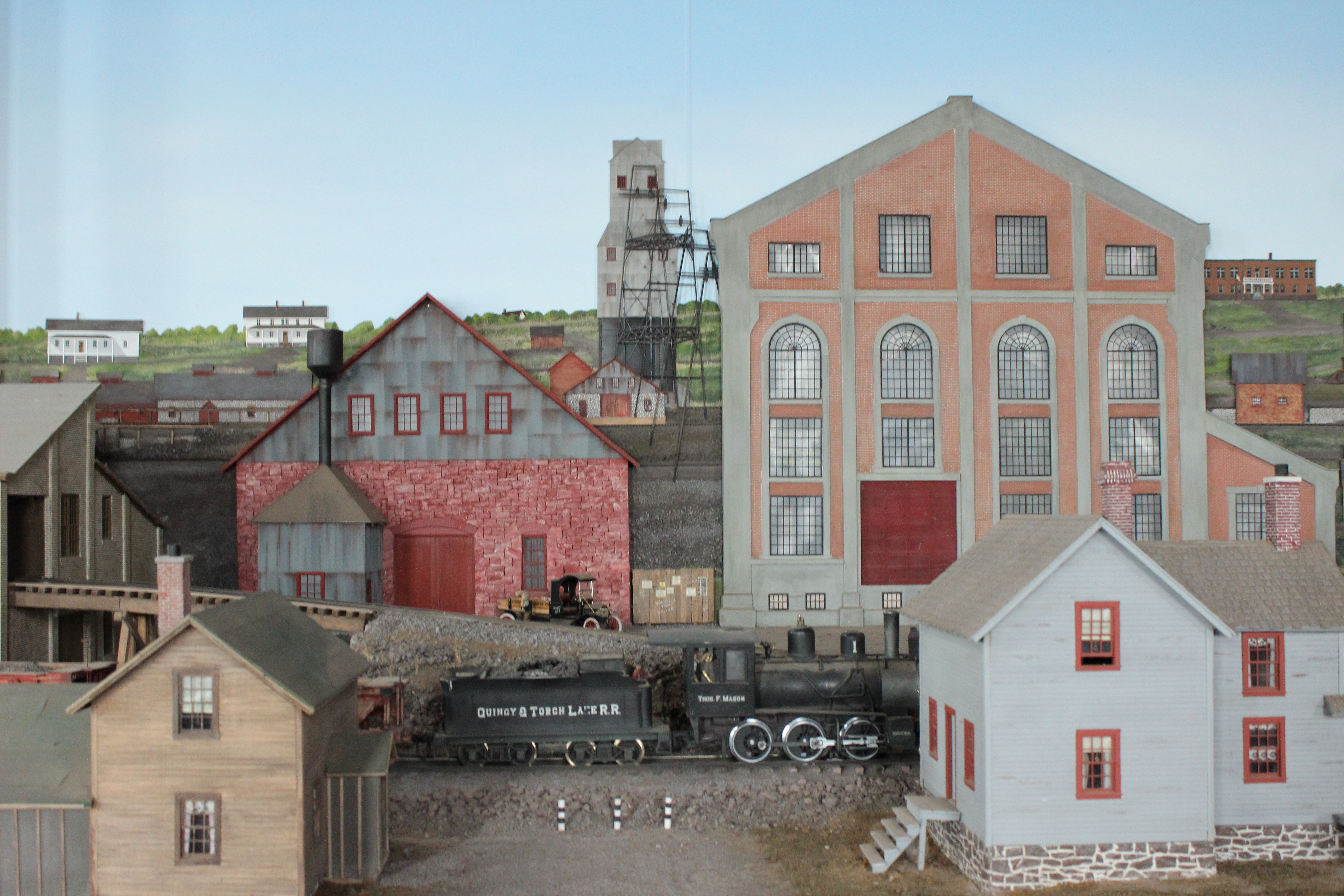 Quincy Mine Museum Models