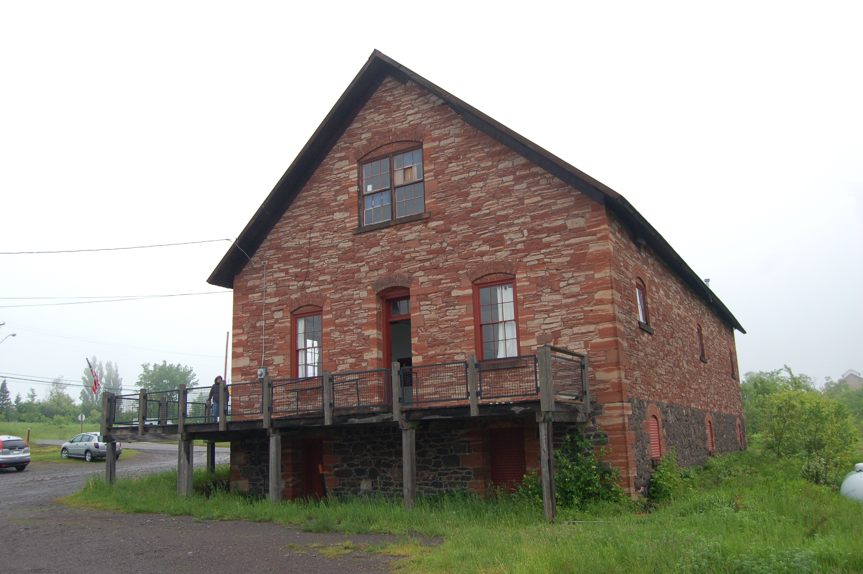 Quincy Mine Office Building