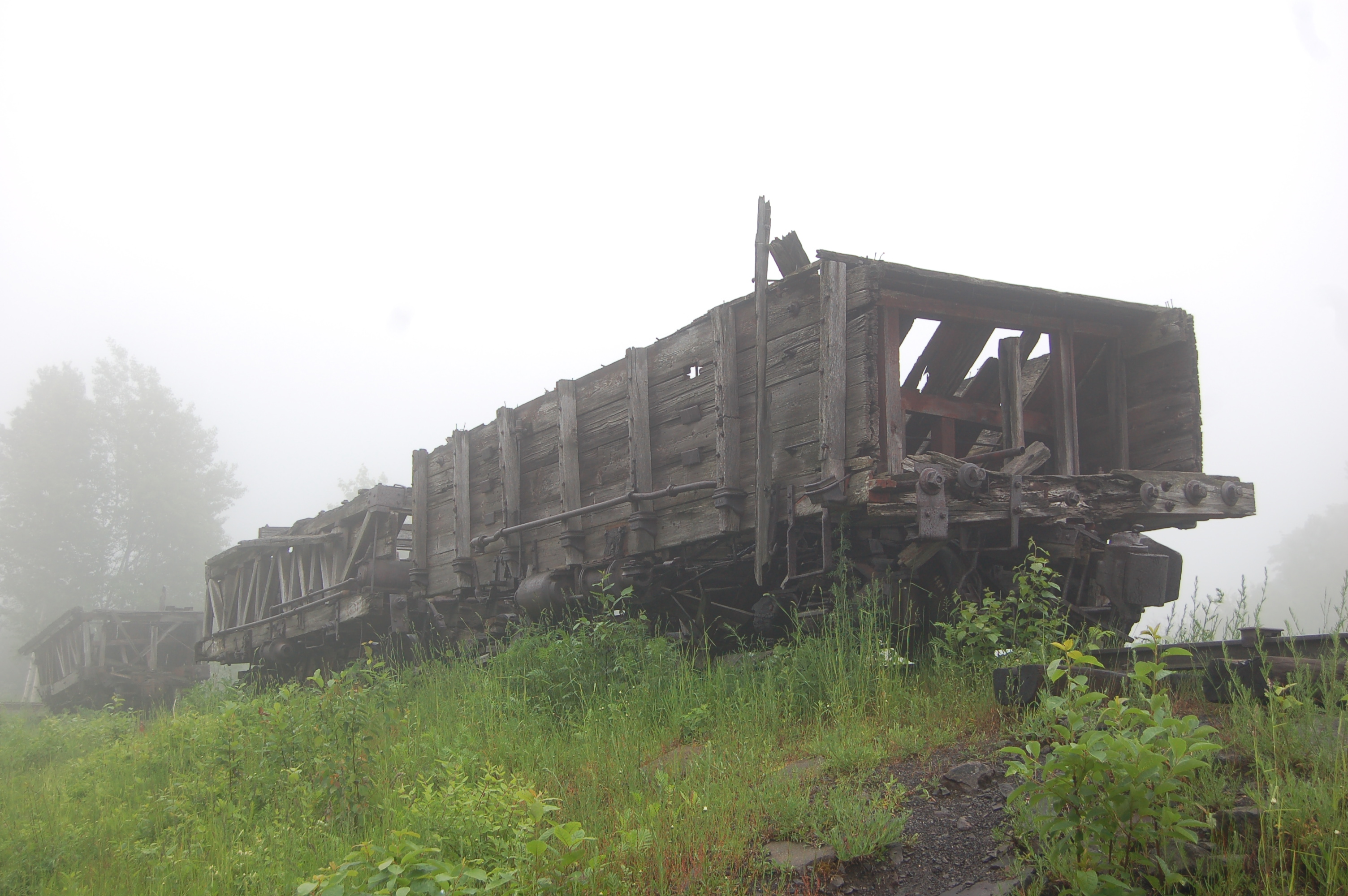 Quincy Mine Railcar