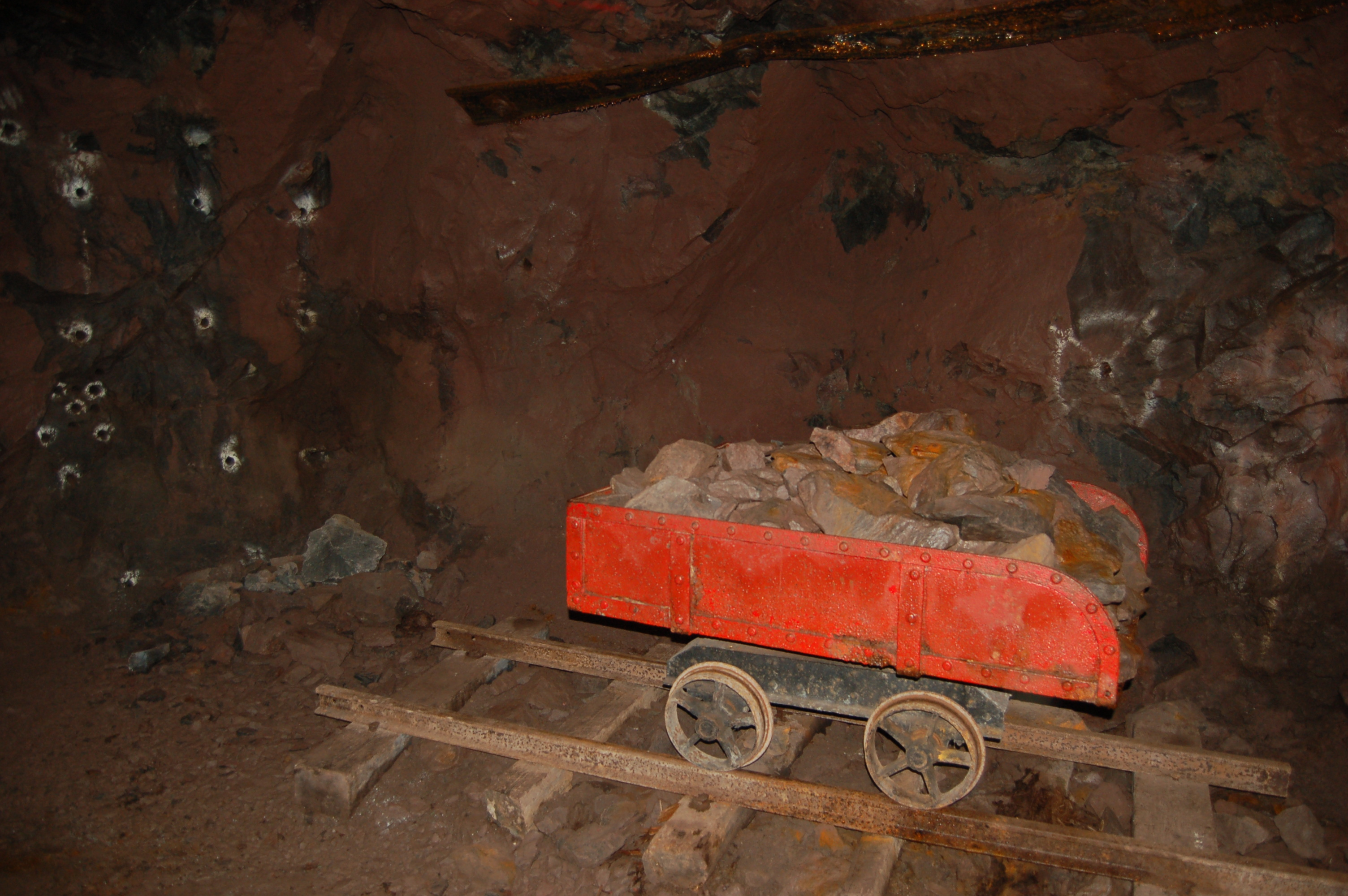 Quincy Mine Underground 1