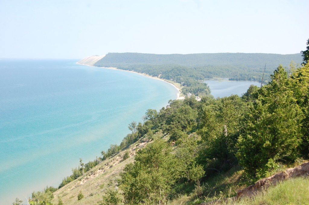Sleeping Bear Dunes Empire Bluff Trail