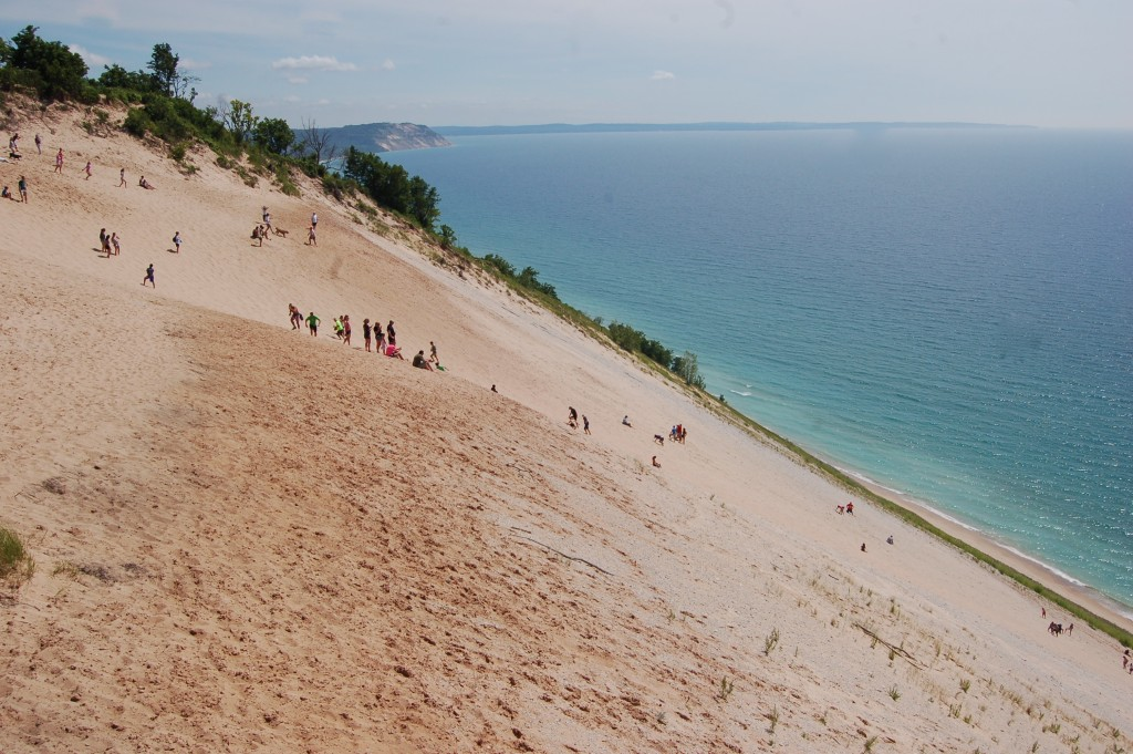 Sleeping Bear Dunes Lake MI Overlook Pierce Stocking