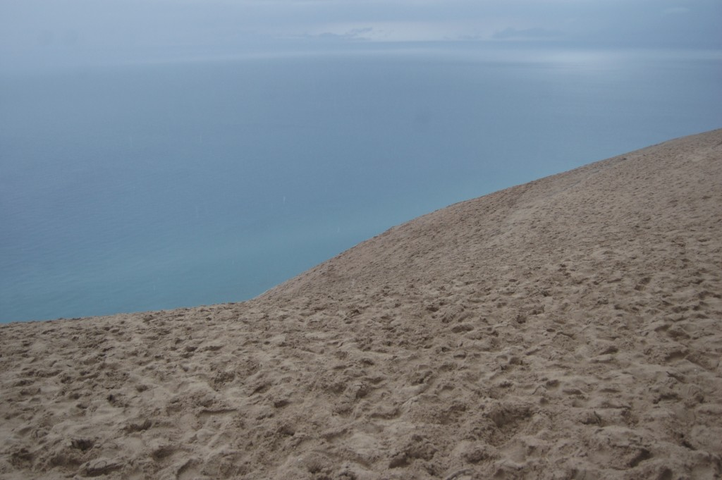 Sleeping Bear Dunes Lake Michigan Overlook 1