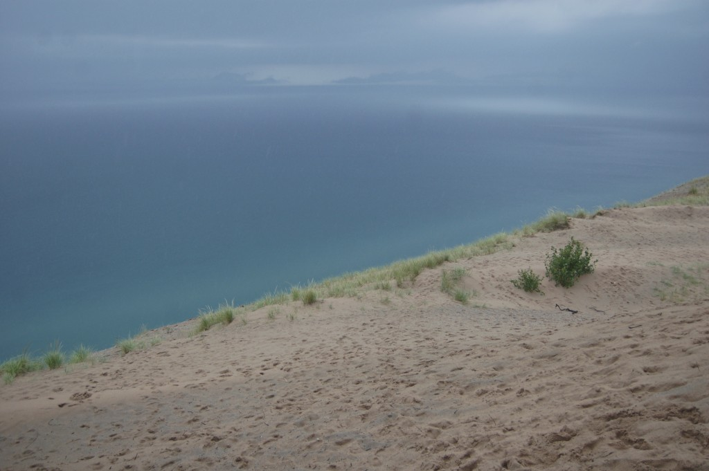 Sleeping Bear Dunes Lake Michigan Overlook 2