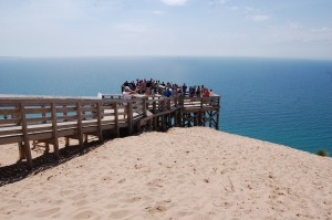 Sleeping Bear Dunes Lake Michigan Visitors Overlook