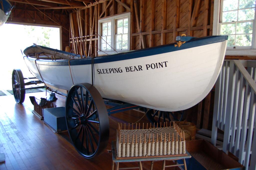 Sleeping Bear Dunes Maritime Museum Lifeboat