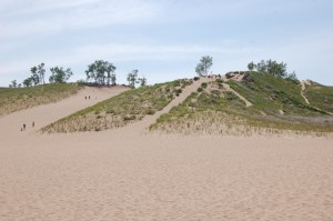 Sleeping Bear Dunes National Lakeshore Sand CLimb