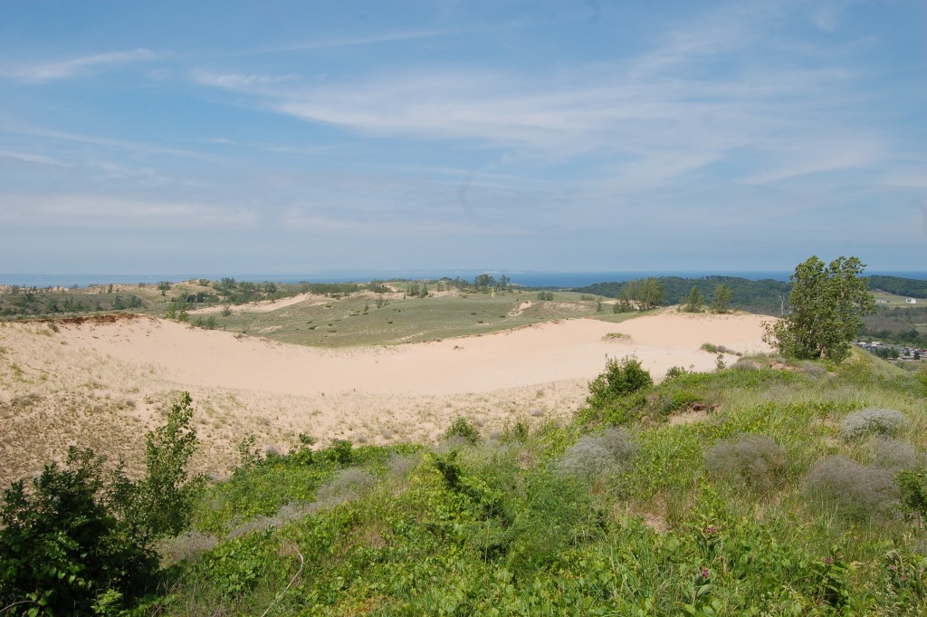 Sleeping Bear Dunes Overlook Cottonwood Trail