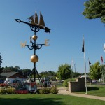 Michigan Roadside Attractions: World's Largest Weathervane in Montague