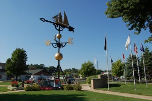 Worlds Largest Weather Vane Michigan