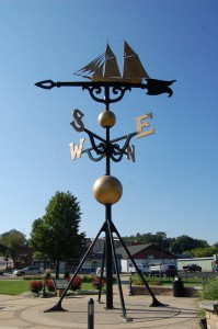 Worlds Largest Weather Vane Montague MI