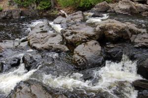 10 Foot Falls Top Eagle River