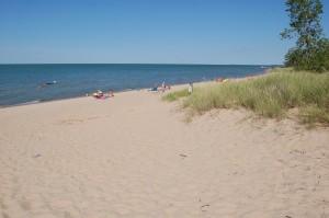 Albert Sleeper State Park Beach Lake Huron