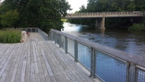 Boardwalk Leslie Tassell Park Grand Rapids