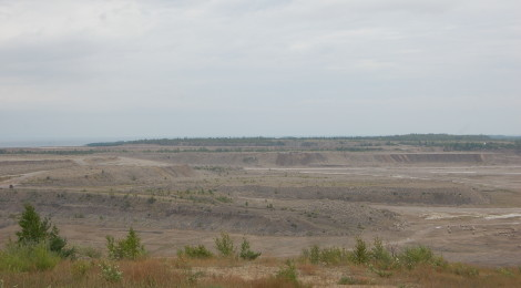 Michigan Roadside Attractions: World's Largest Limestone Quarry, Rogers City