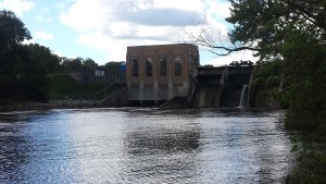 Cascade Dam River View Grand Rapids