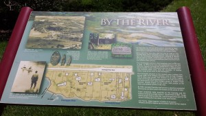 Cascade Thornapple River Info Sign